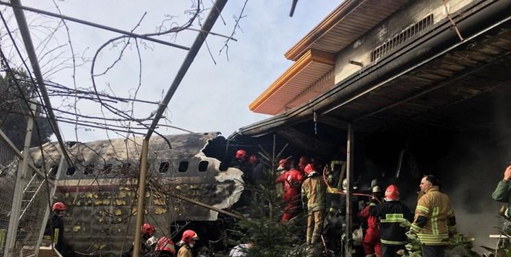 تصاویر جدید از پیکرهای کشف شده از سقوط هواپیما