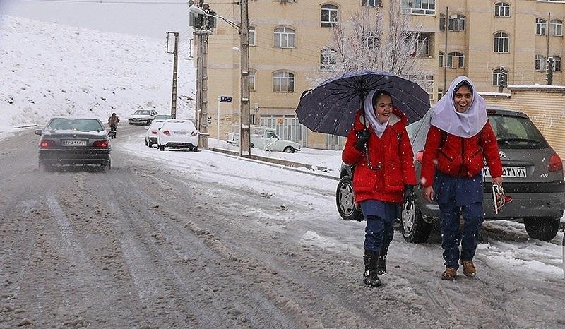 امروز کدام استان ها برفی می شوند؟