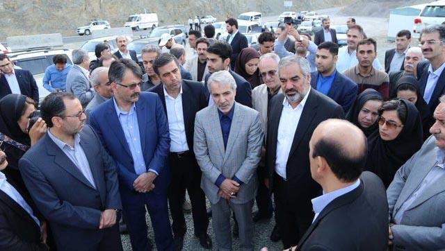 جنجال تصادف خودروی همراهان نوبخت در جنوب کرمان + عکس