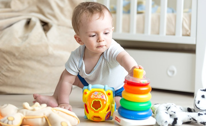 بهترین اسباب بازی های مناسب کودکان زیر یکسال