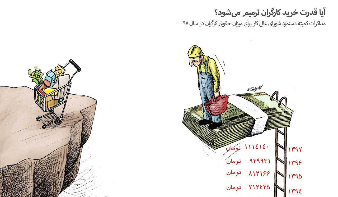 آیا قدرت خرید کارگران ترمیم می شود؟ + عکس