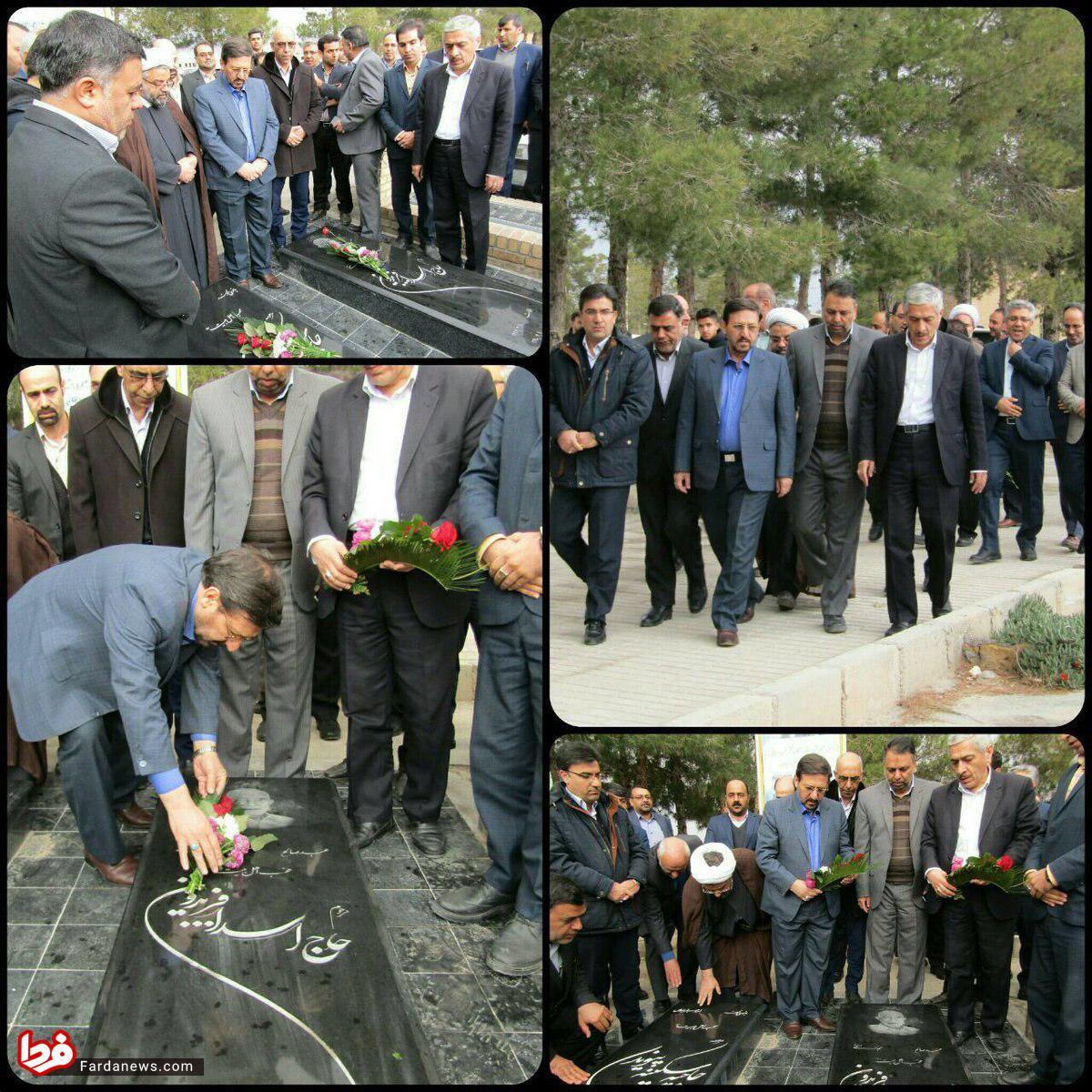 چاپلوسی استاندار سمنان برای روحانی! + عکس