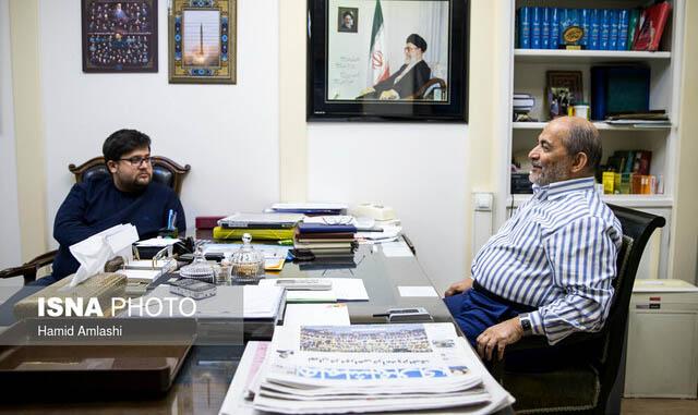دفتر کار محسن رفیق دوست + عکس