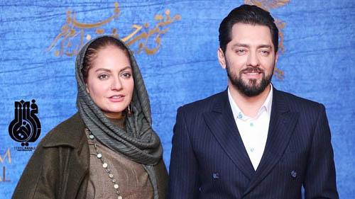 لباس تازه مهناز افشار و بهرام رادان دیشب در پردیس ملت + عکس