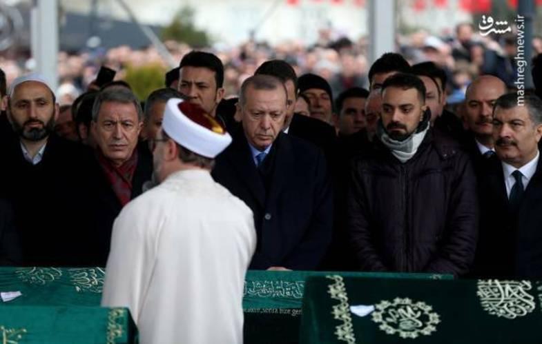 محافظ تک تیرانداز اردوغان + عکس