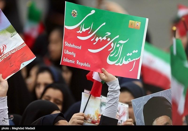 راهپیمایی 22 بهمن نمایش وحدت ملی است