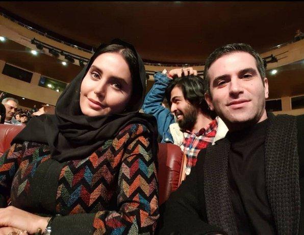 تصاویر| الناز شاکردوست و هوتن شکیبا  دوبرنده سیمرغ بلورین جشنواره فیلم فجر