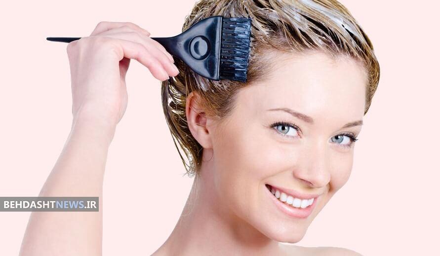 رنگ کردن مو در خانه و نکاتی که باید رعایت شود