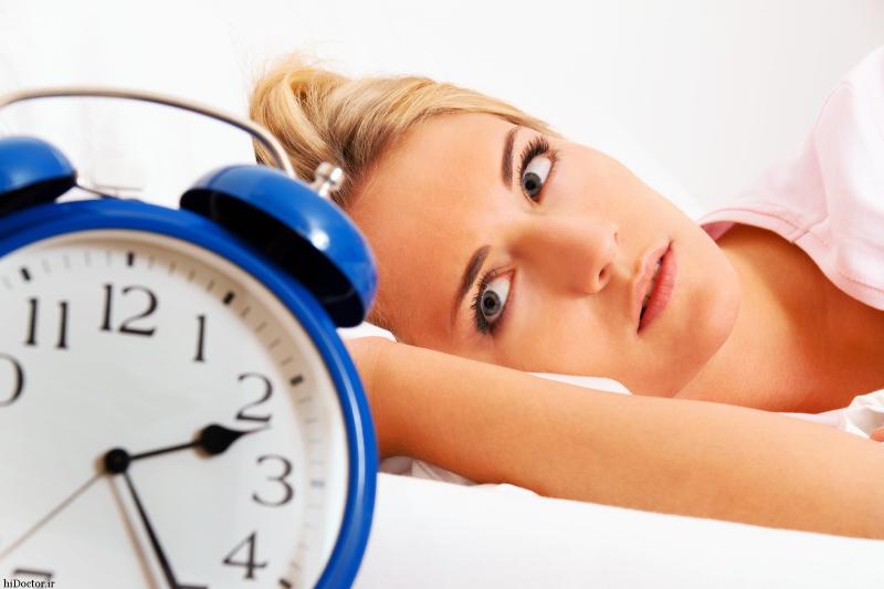 دلايل اختلال در خواب