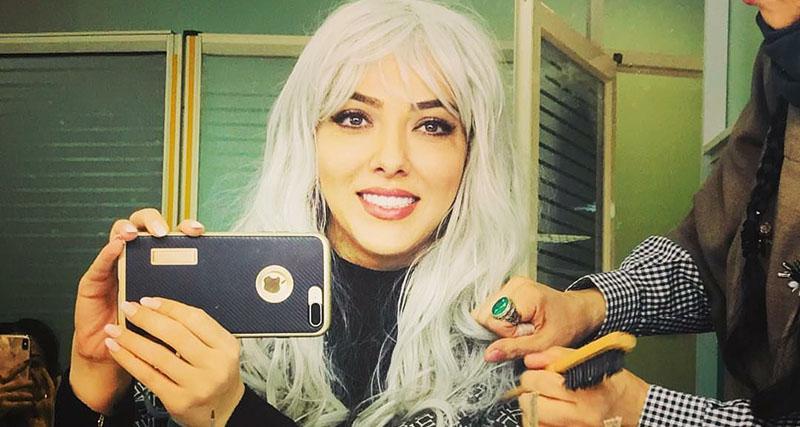 عکس جنجالی لیلا اوتادی با موهای مصنوعی! + عکس