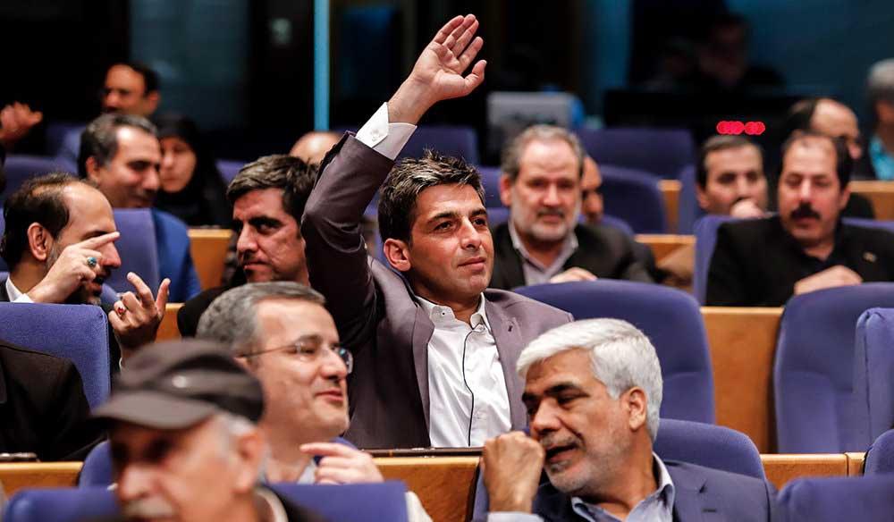 حرکت «حمید گودرزی» در جشنواره جامجم! + عکس