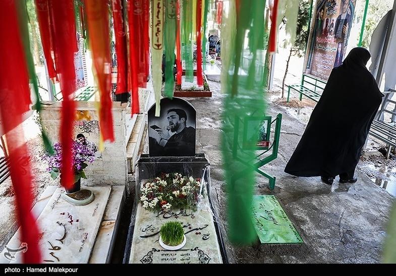 آخرین پنجشنبه سال در بهشت زهرا(س) تهران + عکس