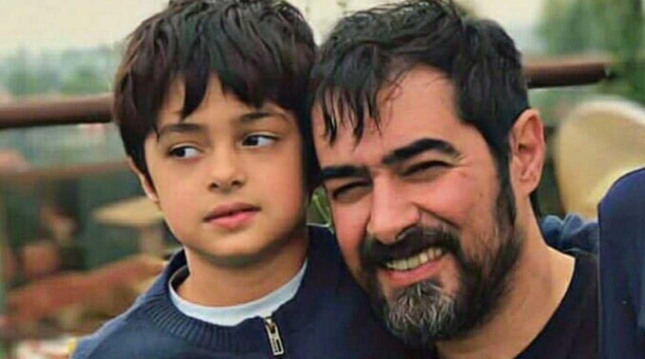 تصویر جدیدی از شهاب حسینی و پسرش + عکس