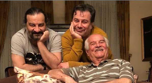 مهراب و پیمان قاسمخانی در جشن تولد پدرشان + عکس