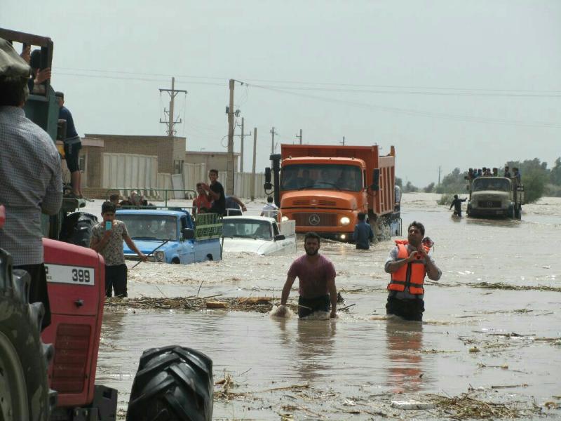رایزنی با وزارت بهداشت برای ضدعفونی کردن مناطق سیل زده و سالمسازی آب شرب
