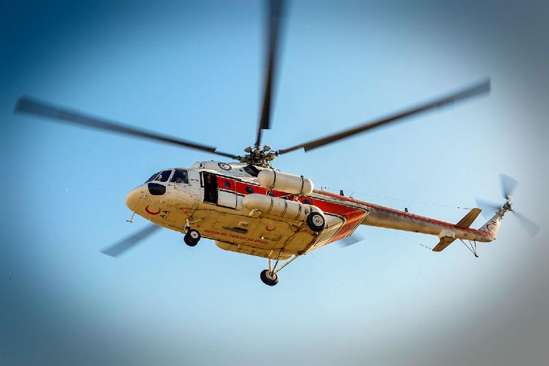 انتقال ۲۵۰۰ نفر با بالگرد اورژانس هوایی در استان های سیل زده