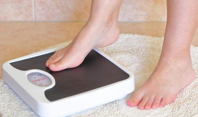 زمان مناسب برای اندازه گیری وزن
