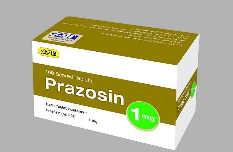 معرفی و بررسی عوارض جانبی مصرف داروی پرازوسین