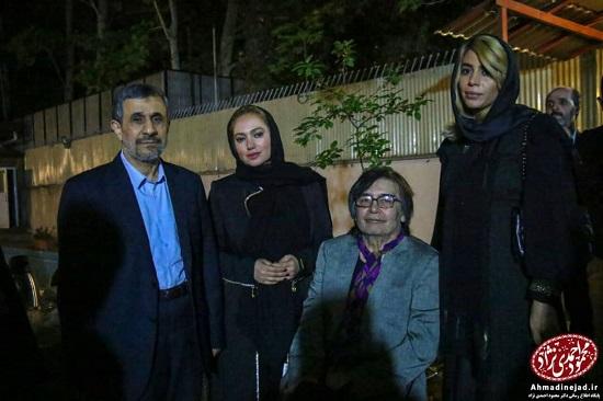 رضا رویگری و پورعرب در مراسم افطاری احمدینژاد + عکس