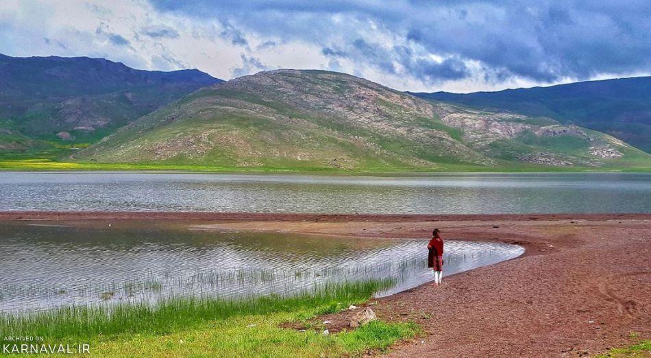 تصاویری از دریاچه زیبای نئور