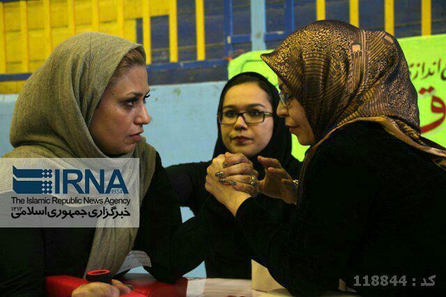 مسابقات مچ اندازی بانوان ایرانی! +عکس