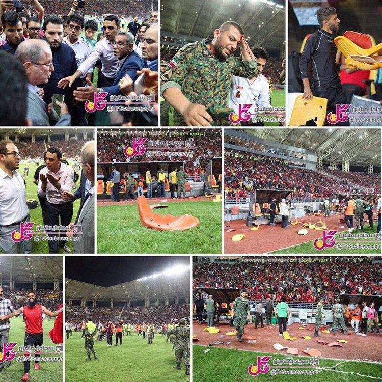 شب تلخ فوتبال ایران + تصاویر