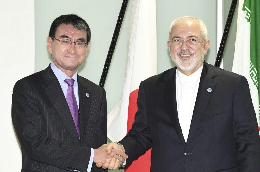 وزیر خارجه ژاپن در راه ایران+عکس
