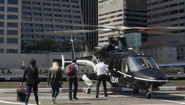 راهاندازی سرویس حمل و نقل مسافران با هلیکوپتر + عکس