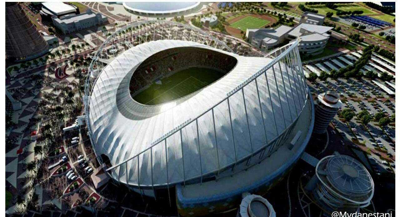 کولرهای ورزشگاه خلیفه قطر برای جام جهانی ۲۰۲۰ + عکس