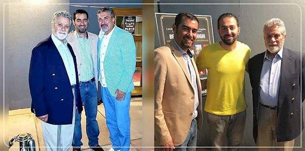 دیدار شهاب حسینی و قیصر در لس آنجلس + عکس