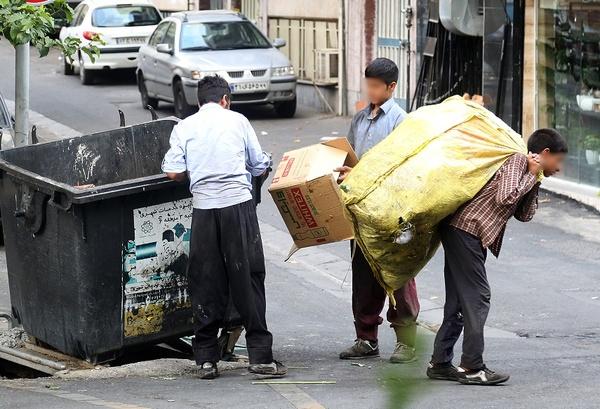 آمارهای تلخ از زبالهگردی کودکان