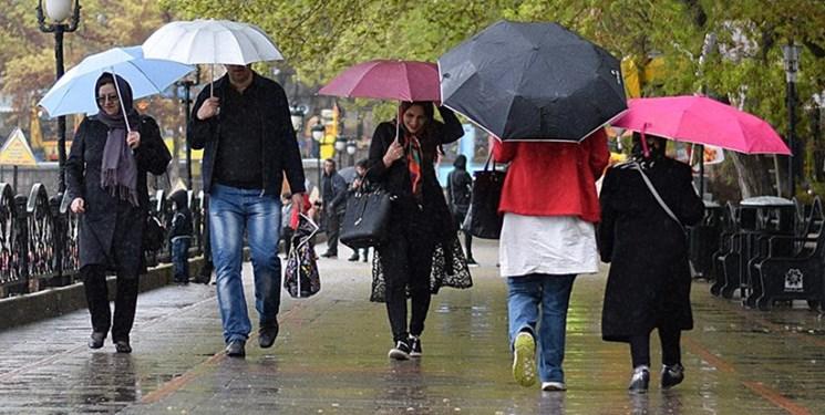 رگبار باران و وزش باد شدید در تهران و برخی نقاط دیگر