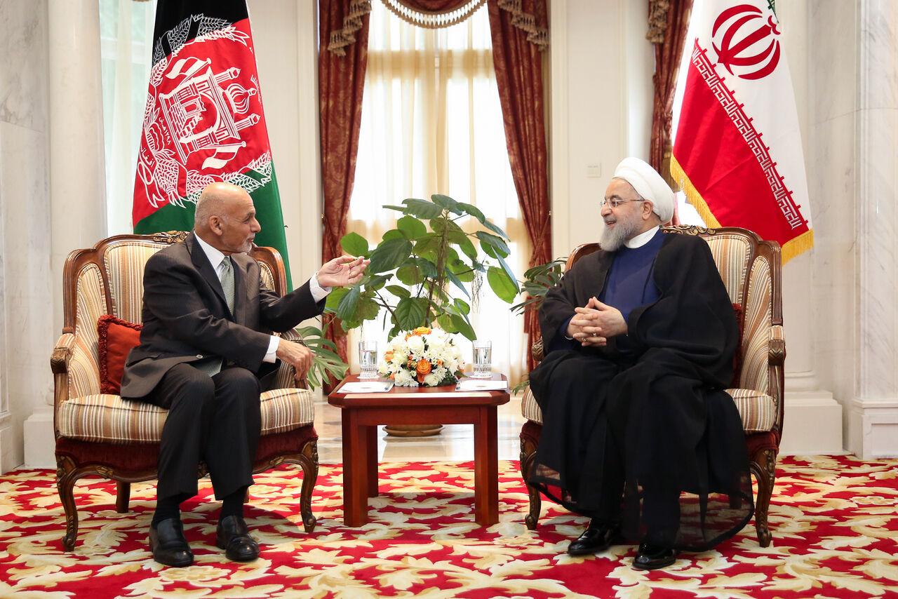 رییس جمهور با اشرف غنی دیدار کرد+عکس