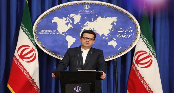 سخنگوی وزارت امور خارجه خطاب به امارات:سکوت کنید+عکس