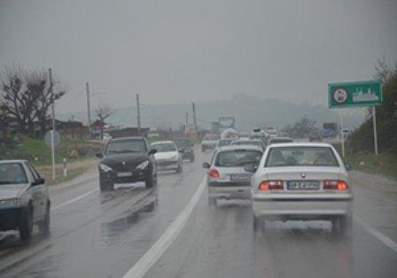 جادههای پنج استان بارانی است