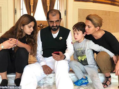 فرار هیا بنت الحسین همسر حاکم دبی با کمک ابوظبی و عربستان بوده است+عکس