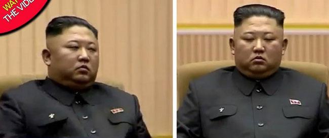 چرت زدن رهبر کرهشمالی خبرساز شد + عکس