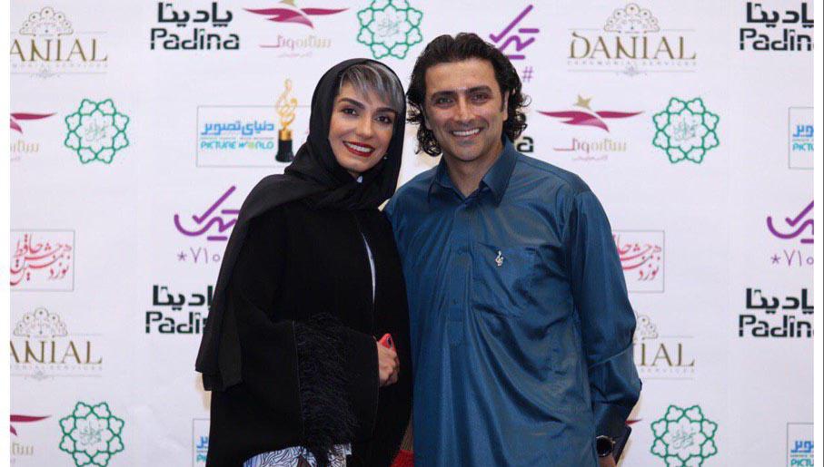 لباس جالب امین زندگانی در جشن حافظ! + عکس