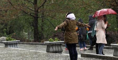 پیش بینی رگبار باران در ۶ استان کشور
