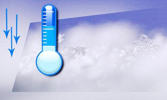 روند کاهشی دمای هوا تافردا
