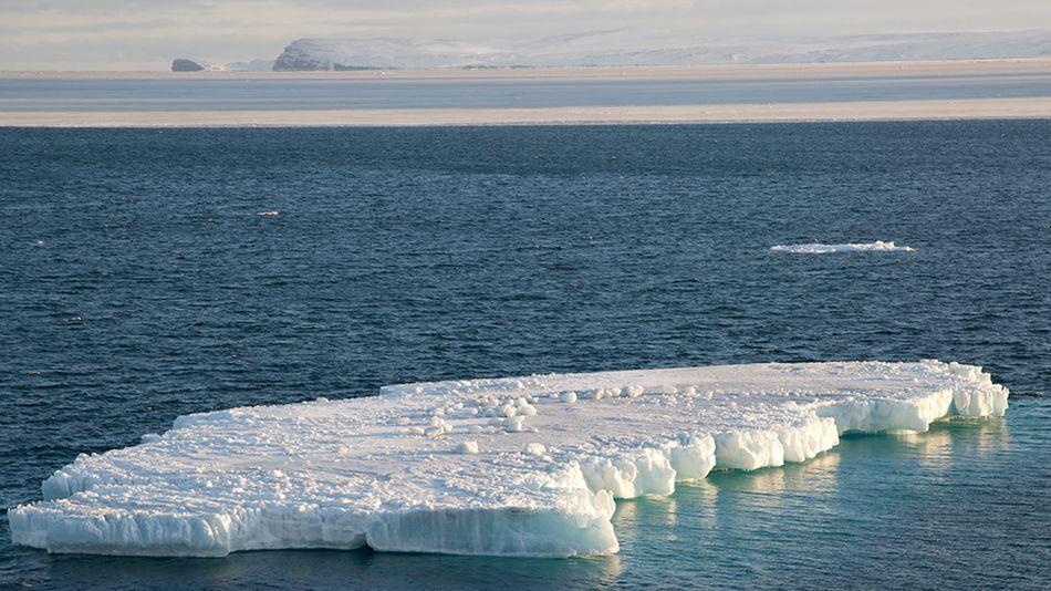 دریای یخی آلاسکا کاملا ذوب شده است