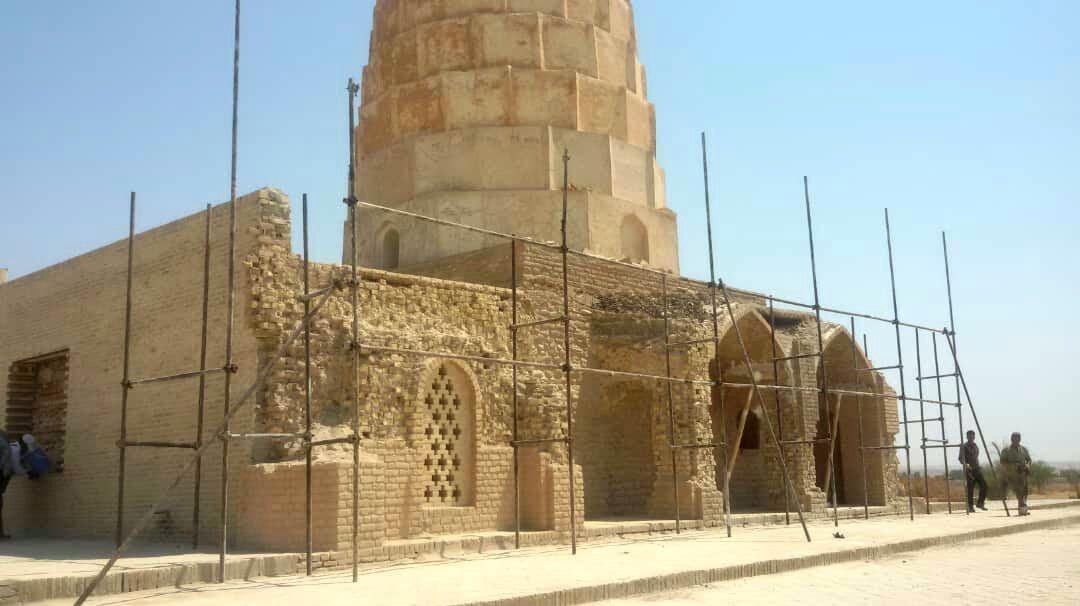 تخریبی در آرامگاه یعقوب لیث صفاری صورت نگرفته است+عکس