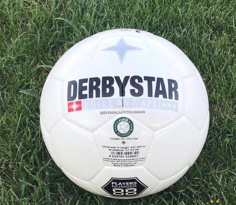 رونمایی از توپ جدید لیگ برتر فوتبال + عکس