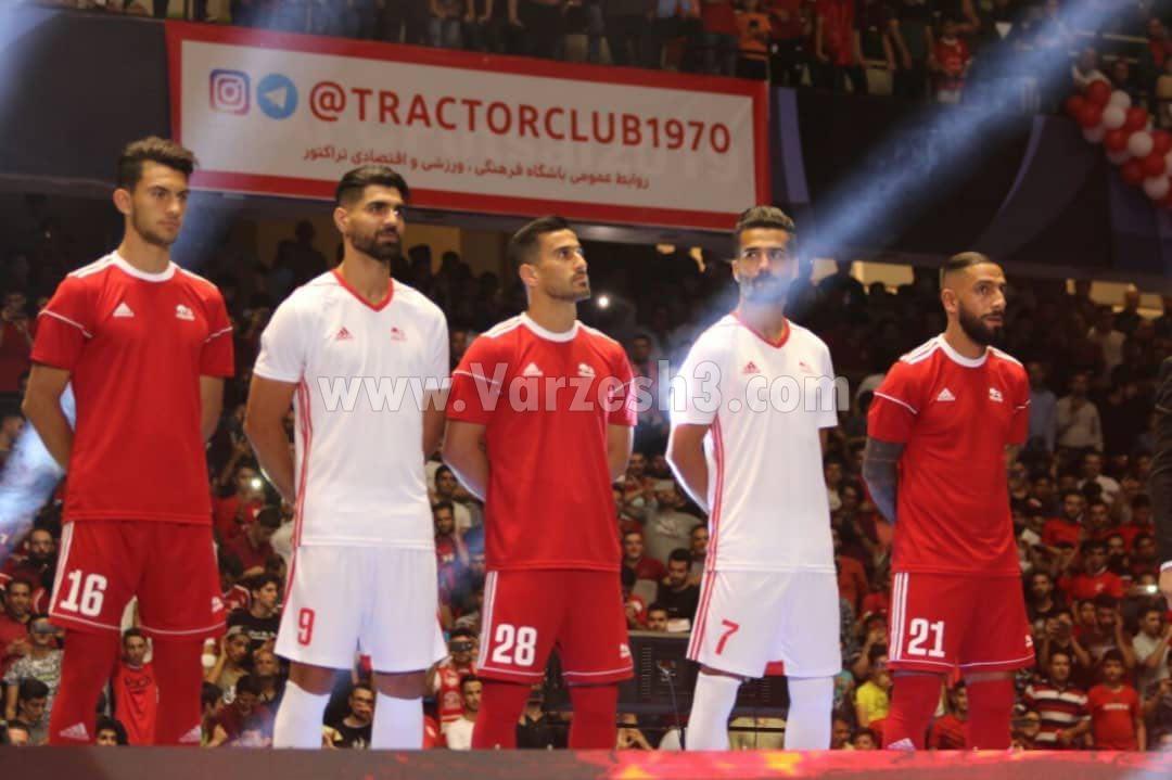 تراکتور آدیداس را از تیم ملی تحویل گرفت! + عکس