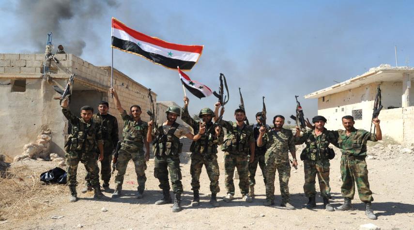 پیشروی ارتش سوریه تا شهر راهبردی کوبانی +عکس