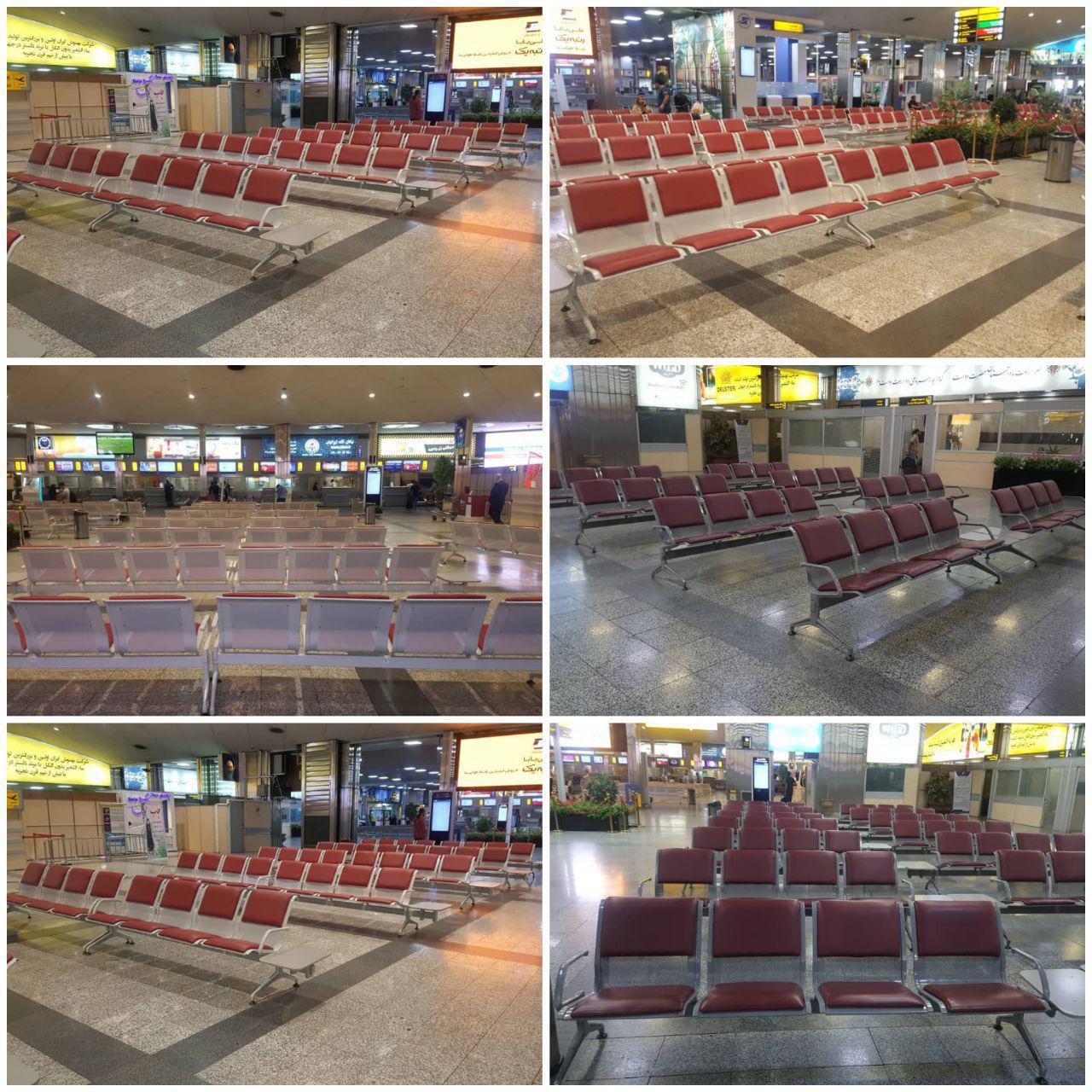 ارتقا خدمات در فرودگاه مهرآباد تهران + عکس