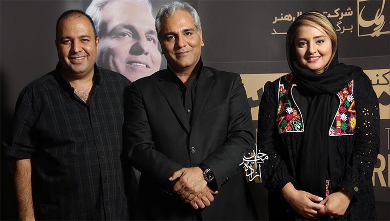 نرگس محمدی و علی اوجی در کنار کسی که بانی ازدواجشان بود + عکس