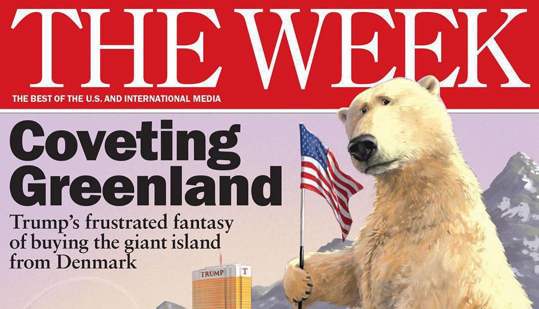 چشم طمع ترامپ به گرینلند + عکس