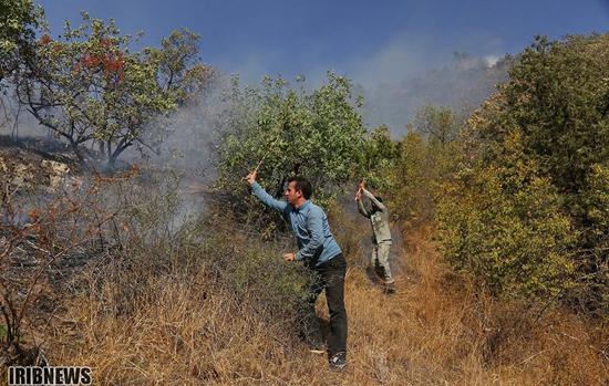 ارسباران همچنان در آتش میسوزد + عکس