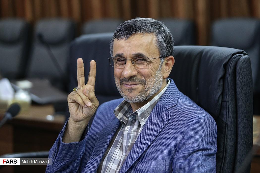 ظاهر جدید احمدینژاد در مجمع تشخیص مصلحت! + عکس